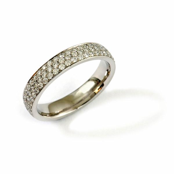 Verlobungsring Palladium Brillanten Alliance (250826)