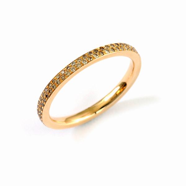 Verlobungsring Roségold Brillanten (250828)